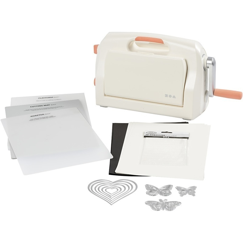 Creativ Company Starter Kit - Die Cut And Embossing Machine, A4, 210x297 Mm, 1 Set