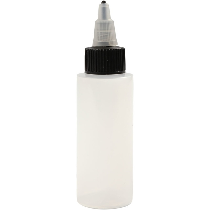 Creativ Company Refillable Bottle With Tip Lid, 60 Ml, 20 Pc