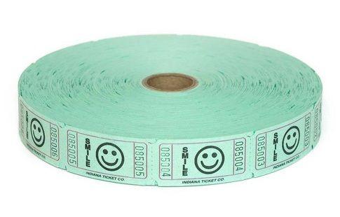 Raffle Tickets - 2,000 Single Stub Smile Tickets