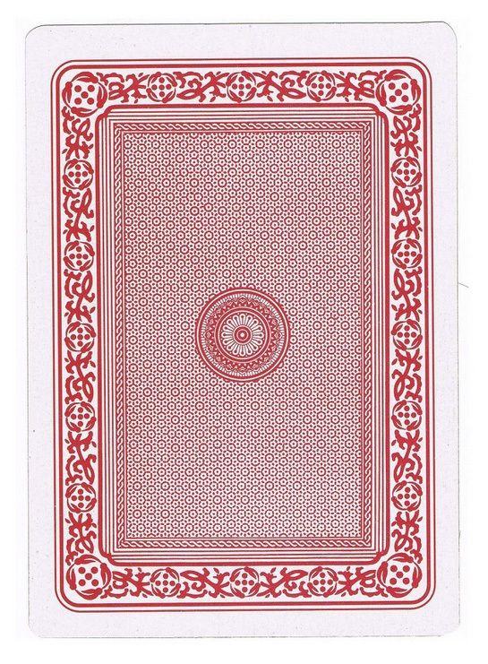 5 X 7 Jumbo Plastic Coated Playing Cards