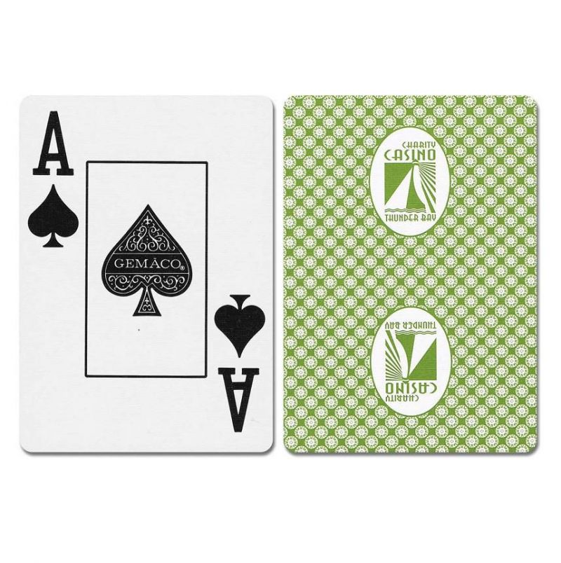Thunder Bay New Uncancelled Casino Playing Cards
