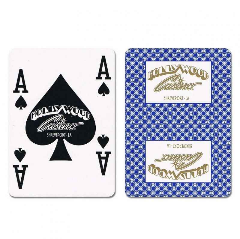Hollywood New Uncancelled Casino Playing Cards