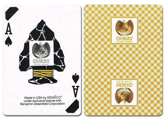 Ohkay New Uncancelled Casino Playing Cards