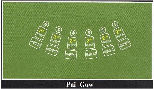 Pai Gow Poker Felt Layout