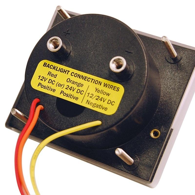 "Blue Sea 8240 Dc Analog Voltmeter - 2-3/4"" Face, 18-32 Volts Dc"