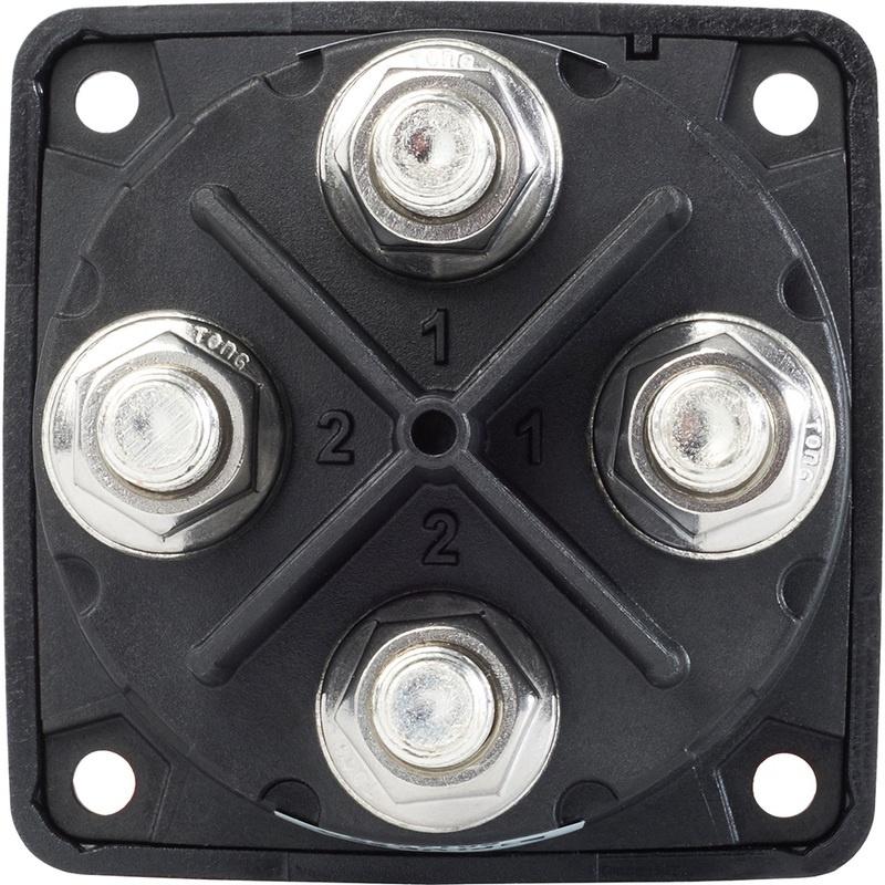 Blue Sea 3010200 Battery Switch Dual Circuit - Black