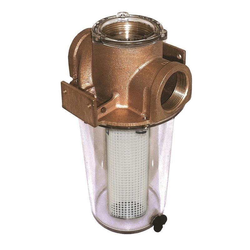 """Groco Arg-2500 Series 2-1/2"""" Raw Water Strainer Non-metallic Strainer"""