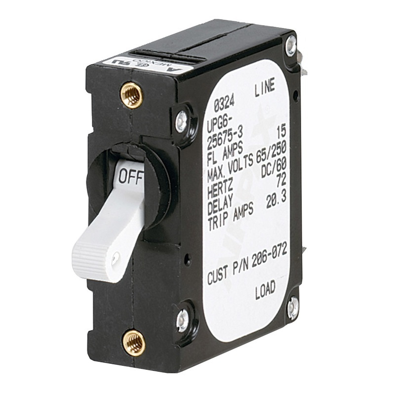 Paneltronics 'a' Frame Magnetic Circuit Breaker - 20 Amps - Single Pole