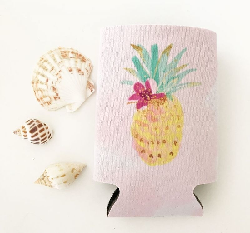 Tropical Can Coolers