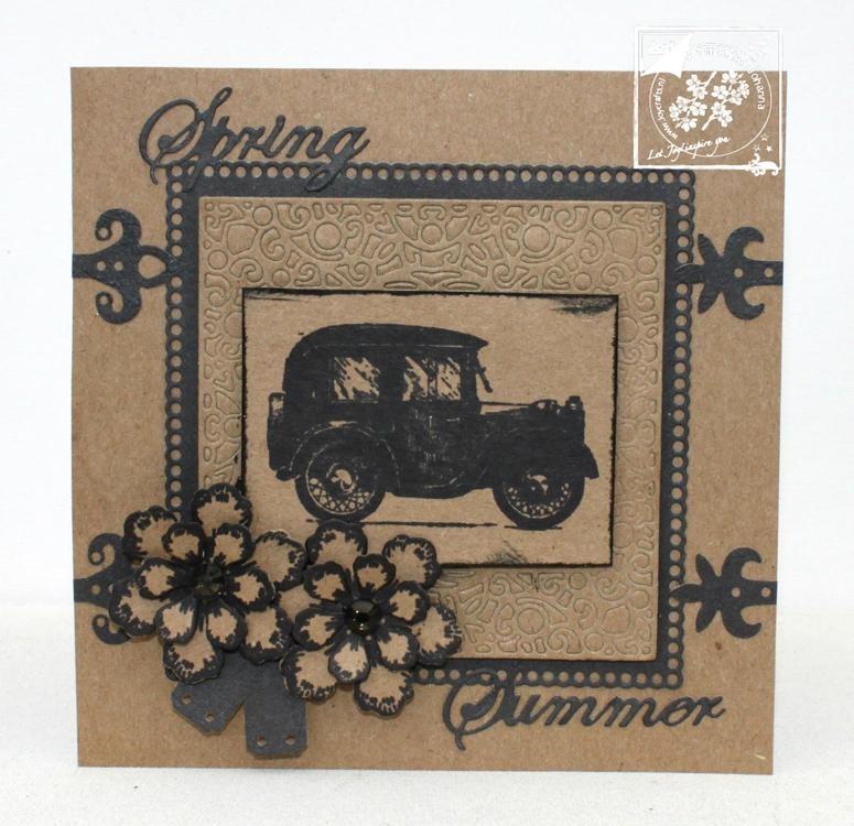 Joy! Crafts Clear Stamp - Retro Cars