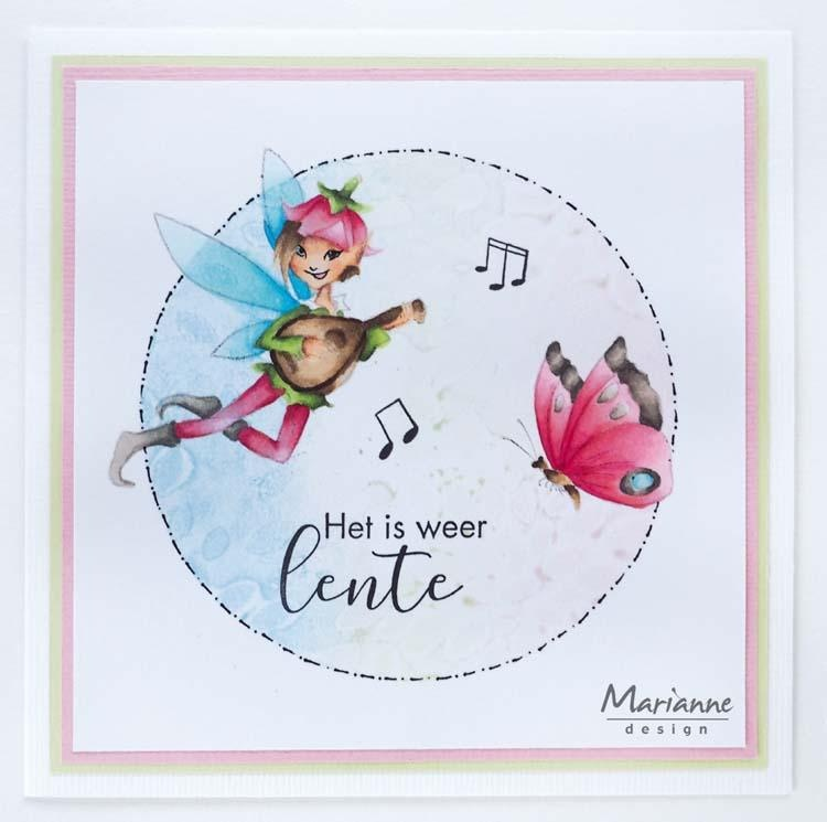 Marianne Design Stamps Hetty's Musical Fairy
