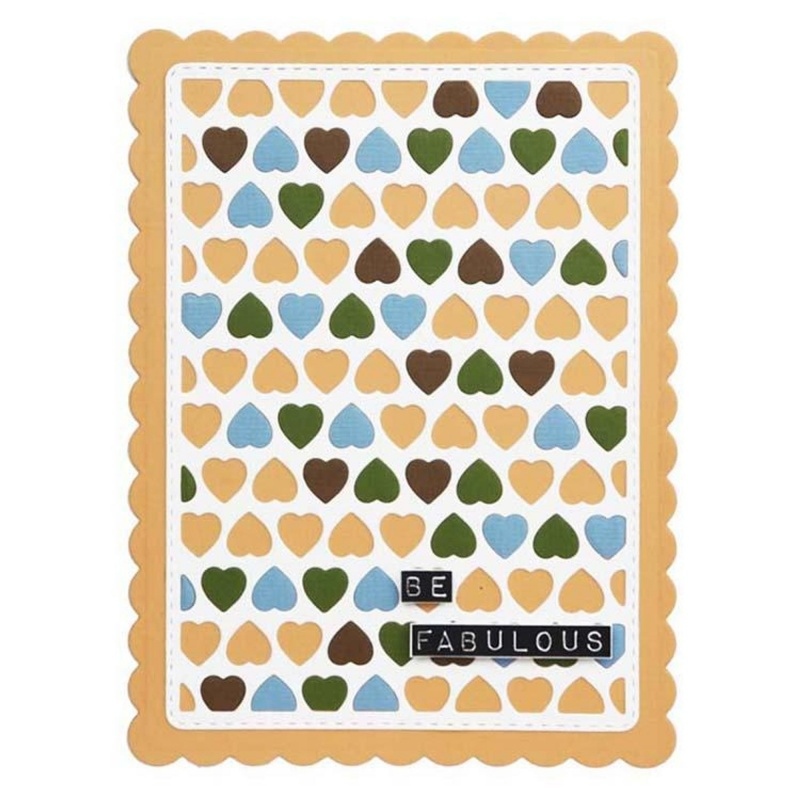 Creative Expressions Everday Ticker Tape Sentiments A5 Clear Stamp Set