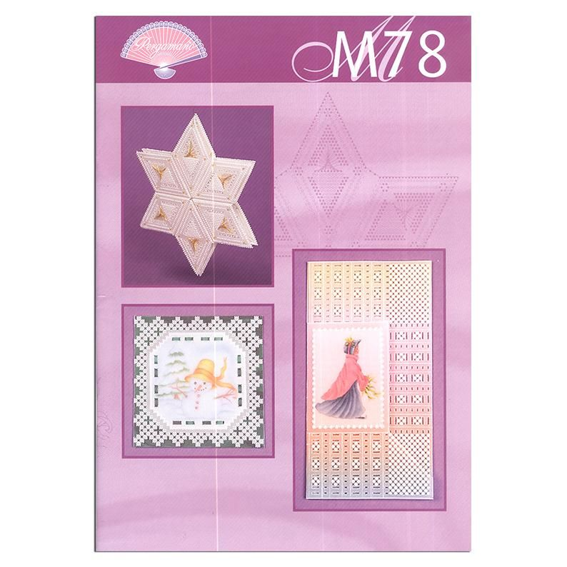 Pergamano Pattern Booklet M78 Christmas Projects Using Grids