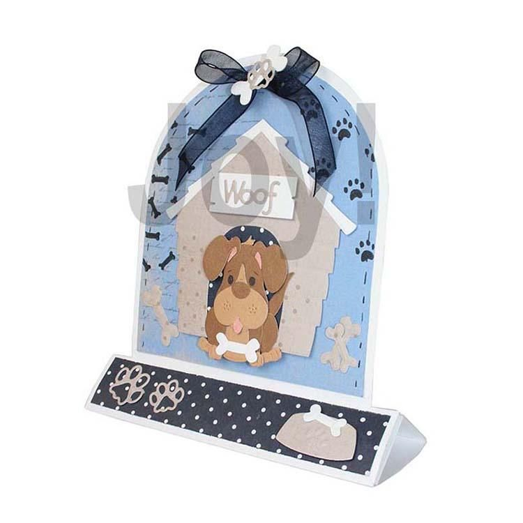 Joy! Crafts Die - One Of A Kind Doghouse