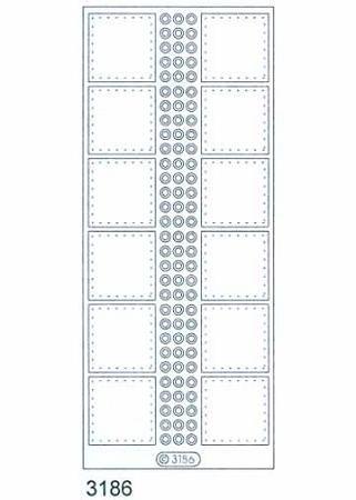 Deco Stickers - Small Squares