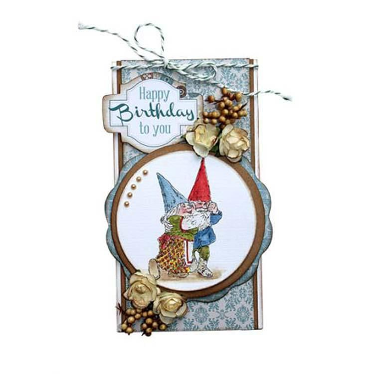 Joy! Crafts Clear Stamp - Gnomes Dance