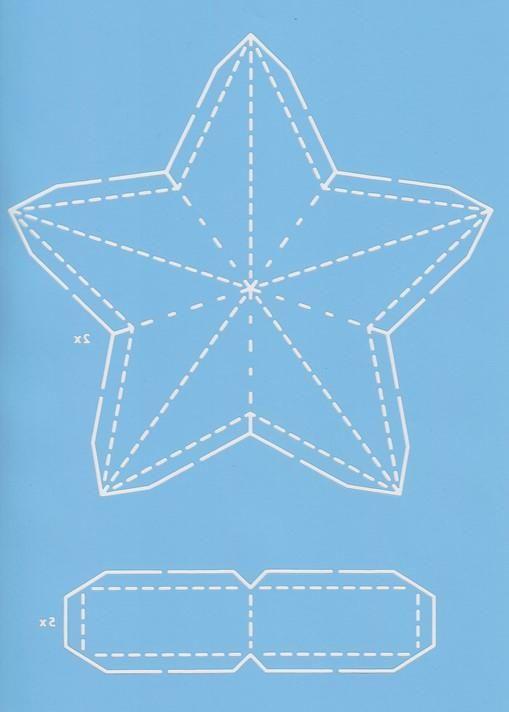Pergamano Star Template