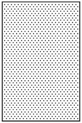 Embossing Folder A4 Size - Dots