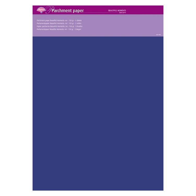 Parchment Paper - Beautiful Moments (5 Sheets)