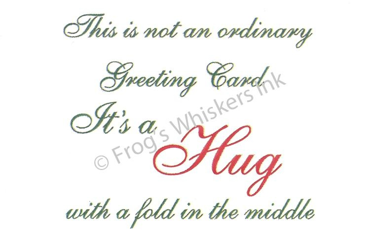 Frog's Whiskers Stamps - This Is Not An Ordinary