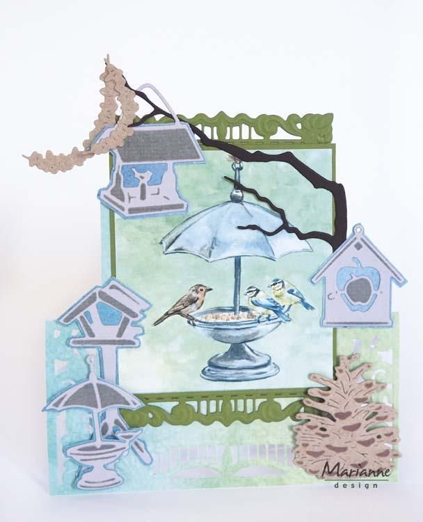 Marianne Design Creatables Tiny''s Peanut Garland And Branch