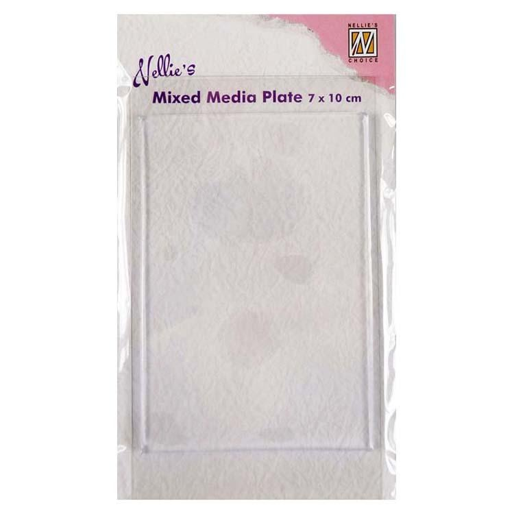 Nellie's Choice - Mixed Media Plate Rectangle
