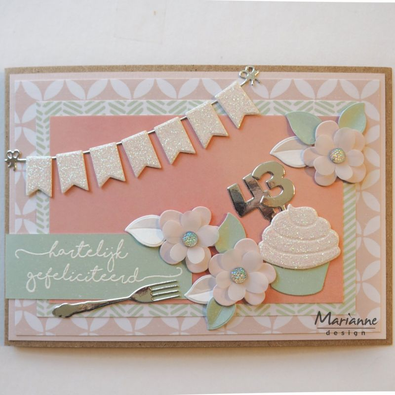 Marianne Design Creatables Pins Numbers