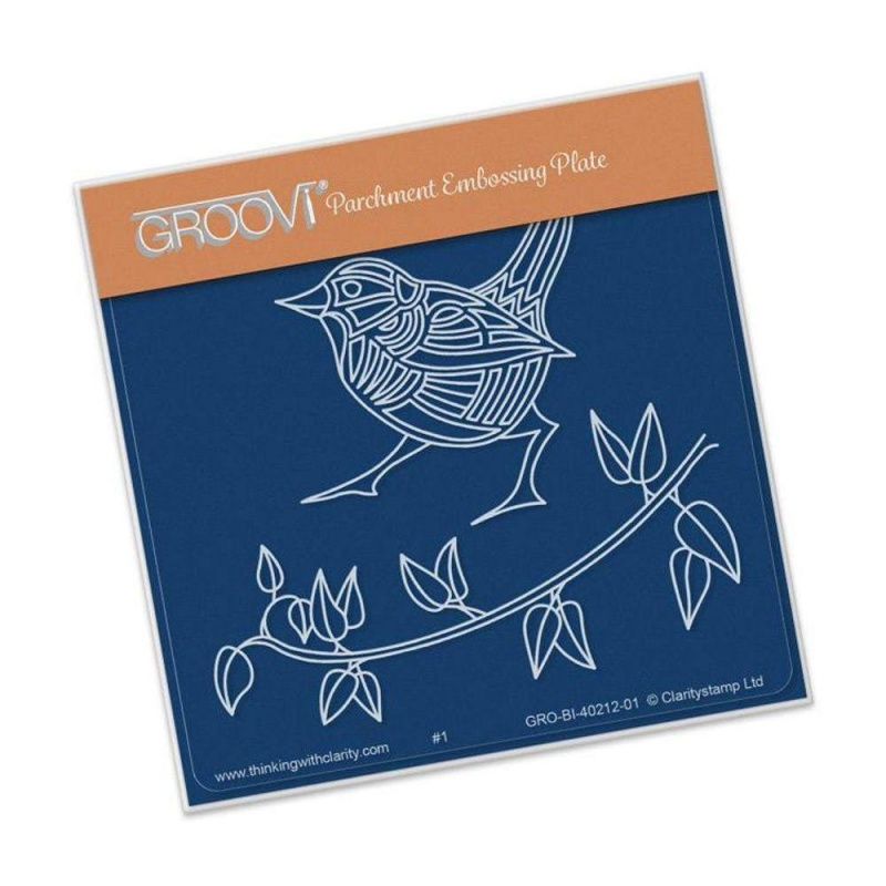 Wren & Leaves A6 Baby Plate