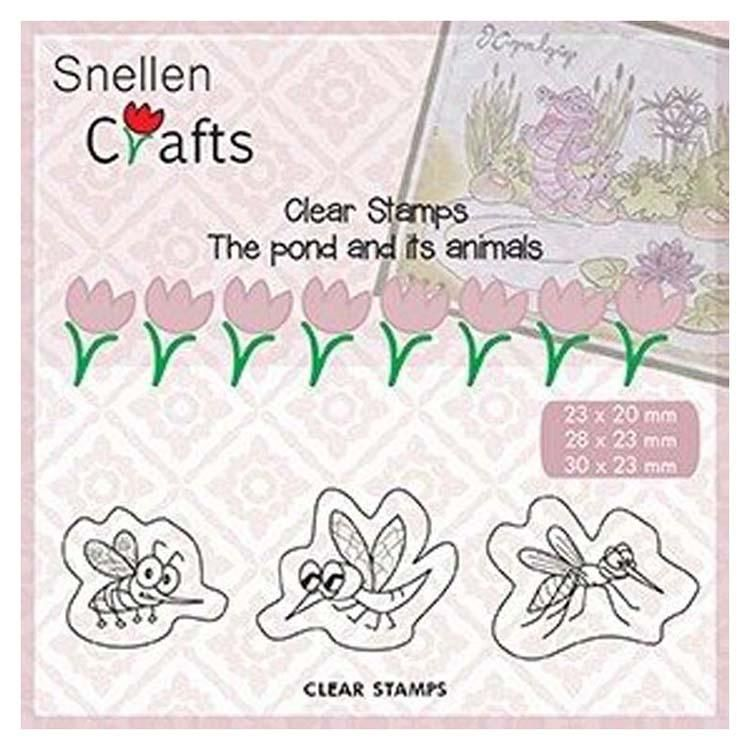 Snellen Crafts Clear Stamp Insects