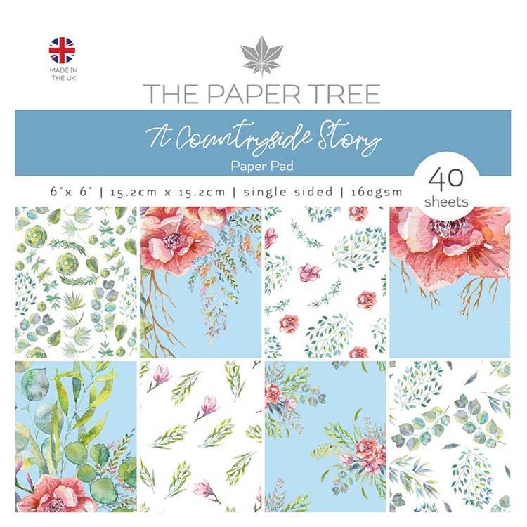 The Paper Tree A Countryside Story 6x6 Paper Pad