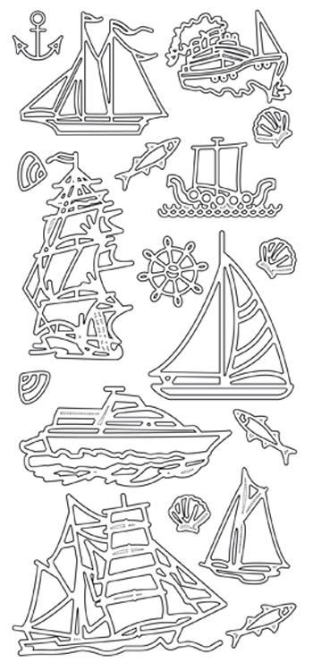 Peel-off Stickers - Boats