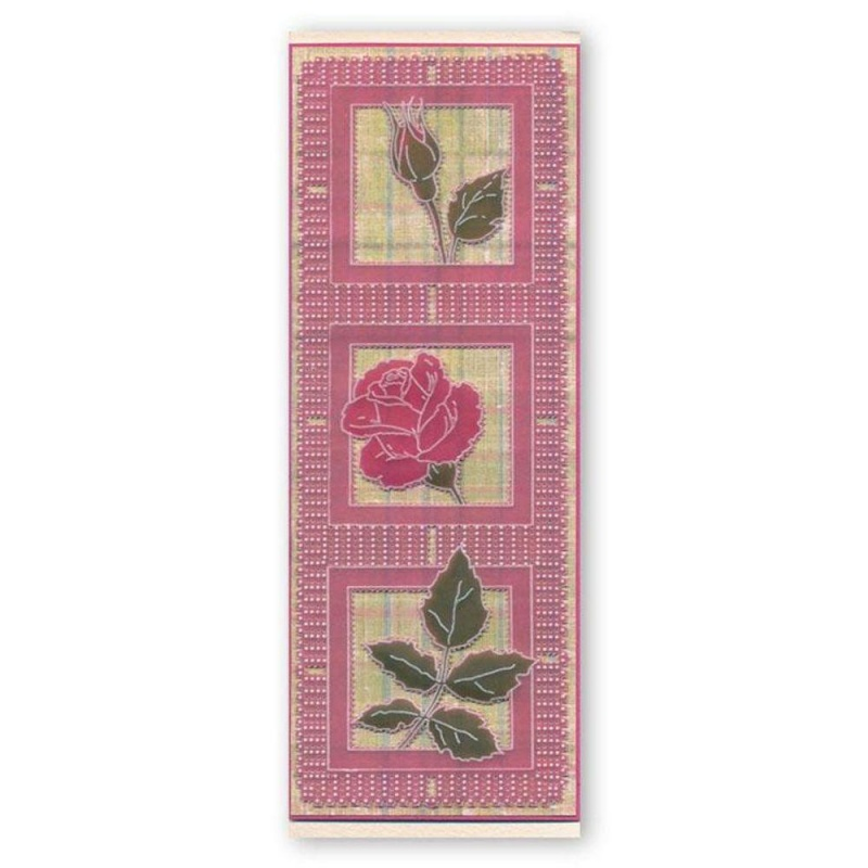 Jayne Nestorenko Roses Name A5 Groovi Plate