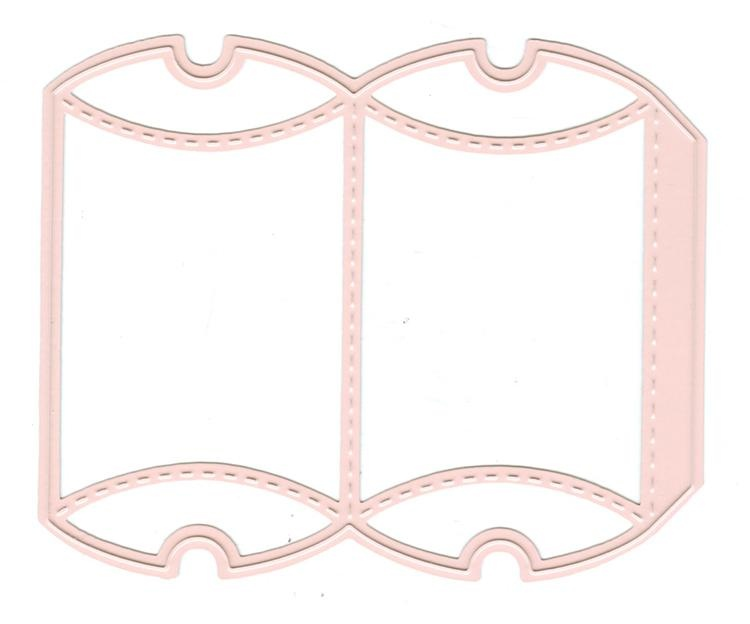 Wrapping Die Gift Box 1 - Rectangle