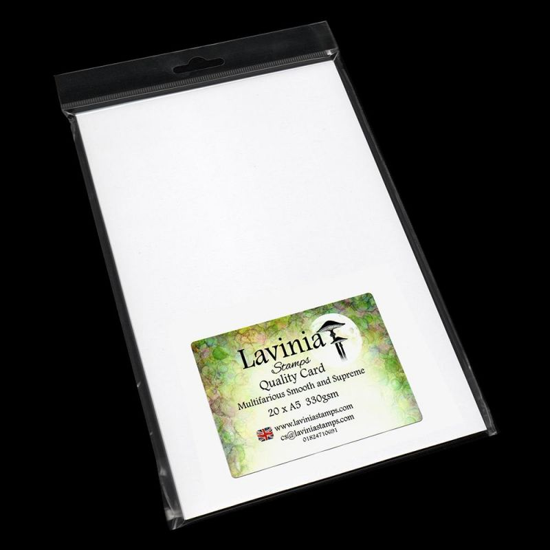 Multifarious Card A5 (5.8 X 8.3 In) White 20 Sheets