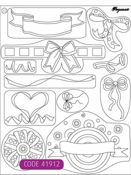 Clear Stamps - Ribbon Bows