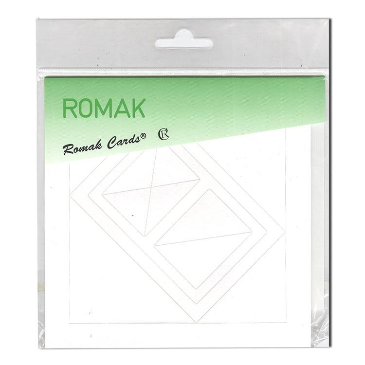 """4 Rectangle Frame Cards 5x5"""""""