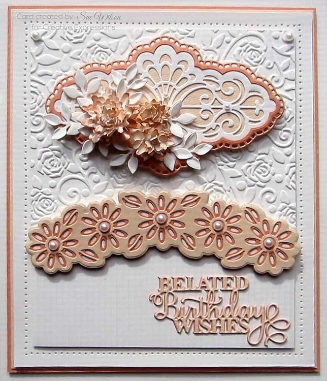 Creative Expressions Dies By Sue Wilson Frames And Tags Collection Jocelyn