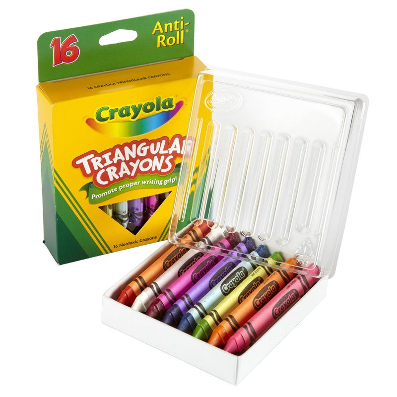 Crayola Triangular Crayons 16 Count