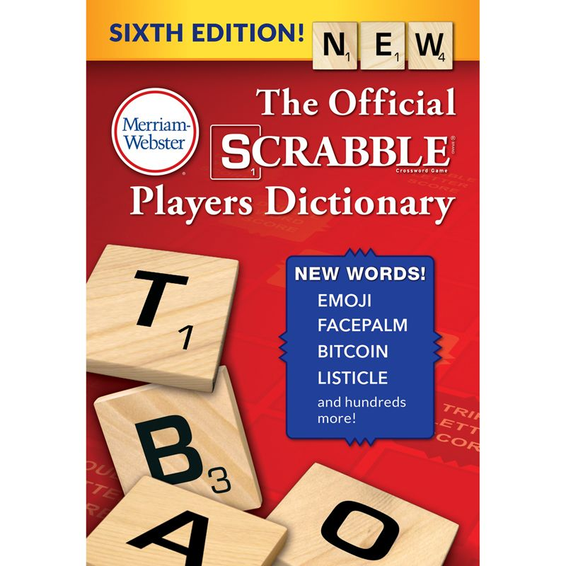 Official Scrabble Players Dictionry 6th Ed. Hardcover