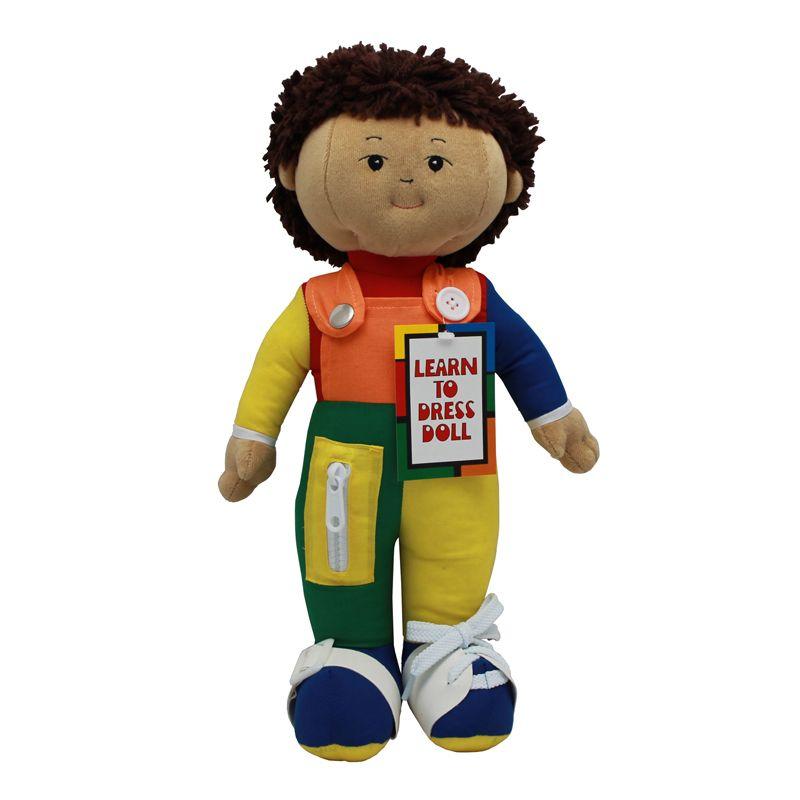 Learn To Dress Doll Hispanic Boy
