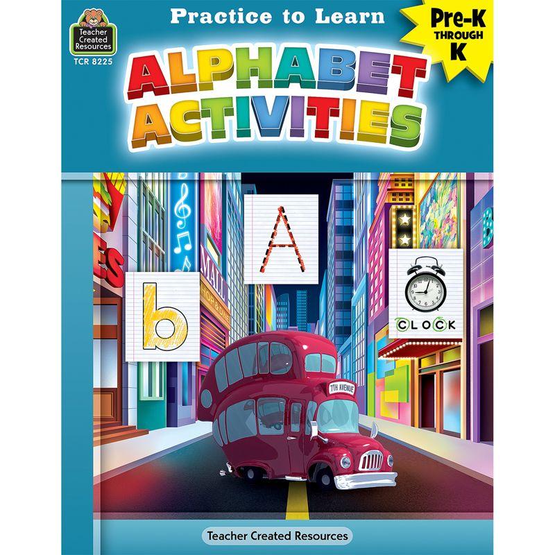 Pract To Learn Alphabet Activities