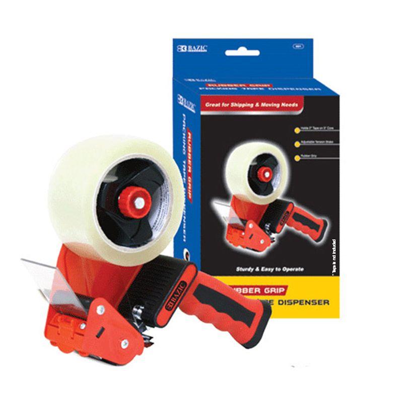 Premium Cmfrt Packng Tape Dispenser Rubber Grip