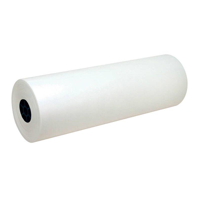 White Kraft Paper 24In Wide Roll