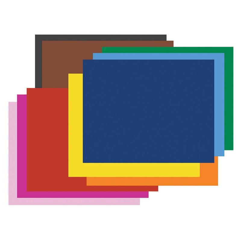 4 Ply Rr Poster Board 50 Sht Assorted