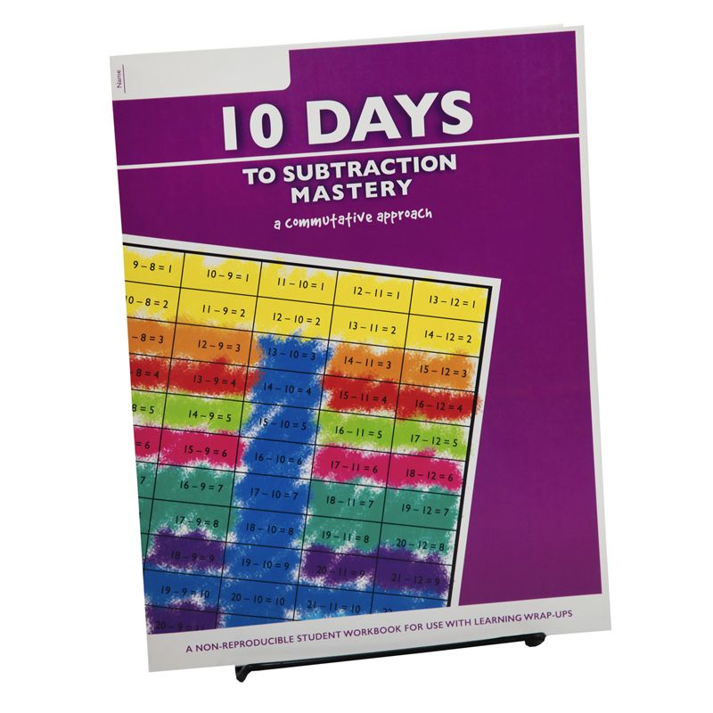 10 Days To Subtract Mastery Student Workbook