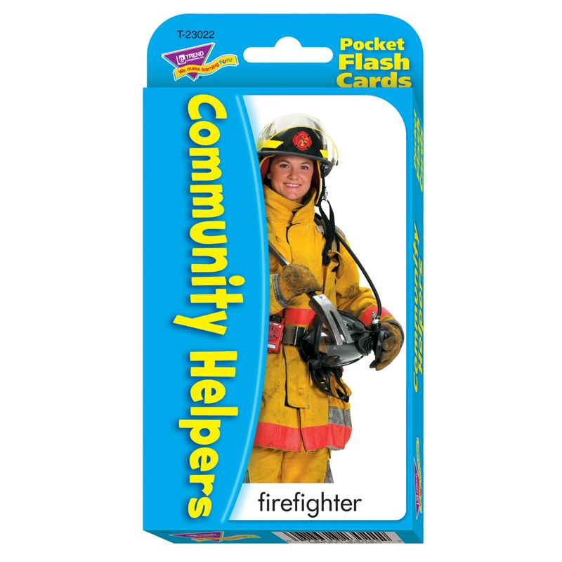 Pocket Flash Cards Community 56-Pk Helper 3 X 5 Two-Sided Cards
