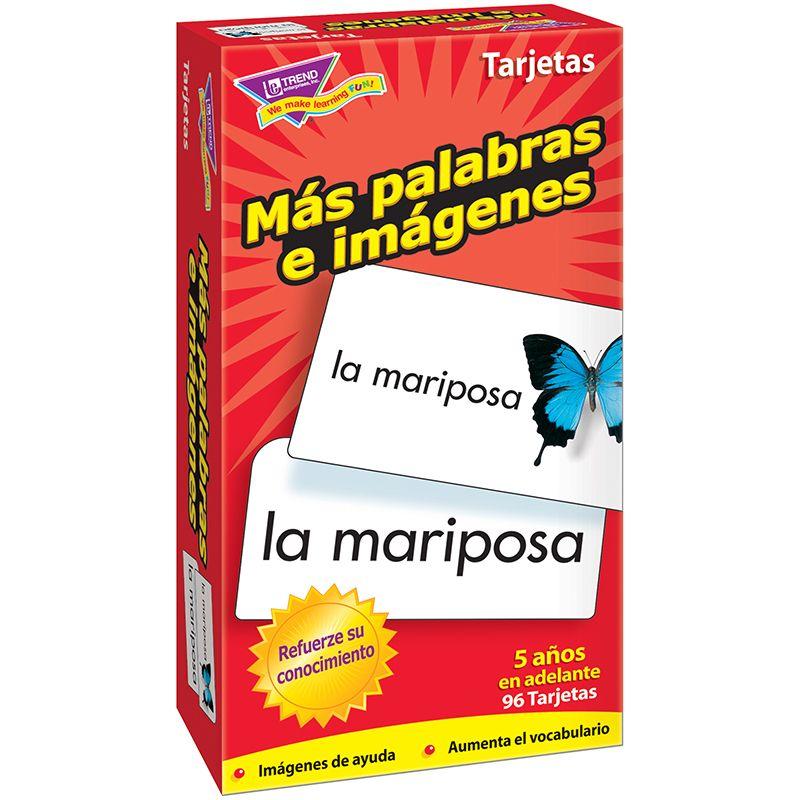 Flash Cards Mas Palabras E 96/Box Imagenes