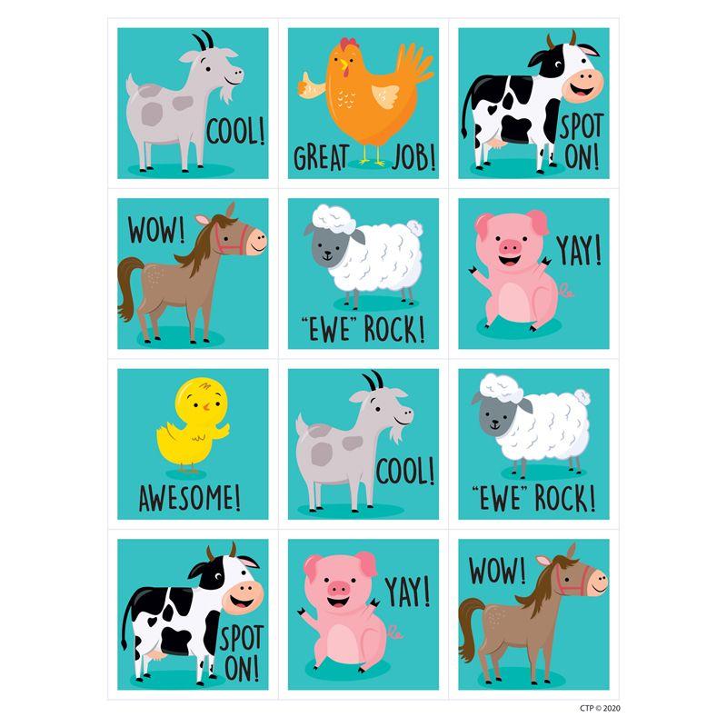 Farm Friends Reward Stickers