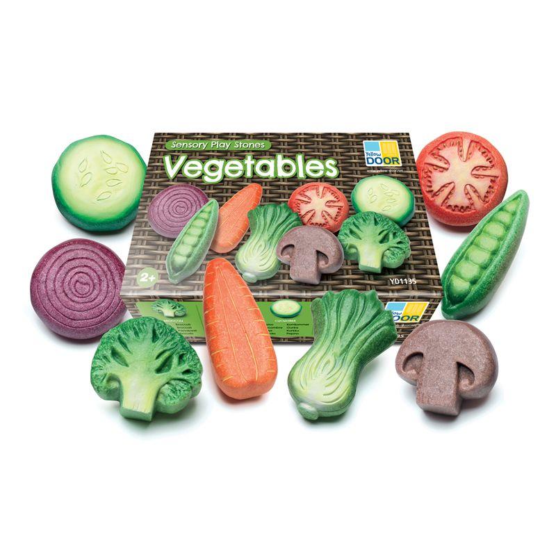 Vegetable Sensory Stones