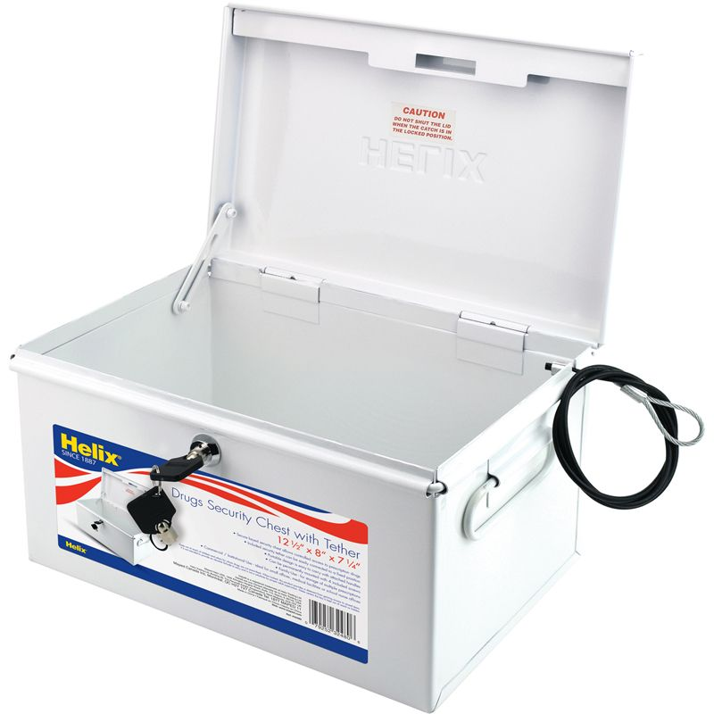 Drug Security Chest With Tether